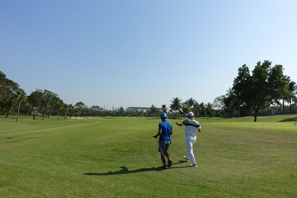タイのプライベートゴルフ合宿