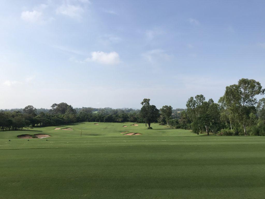 タイ Siam Country old courseのドライビングレンジ by ゴルフリトリート