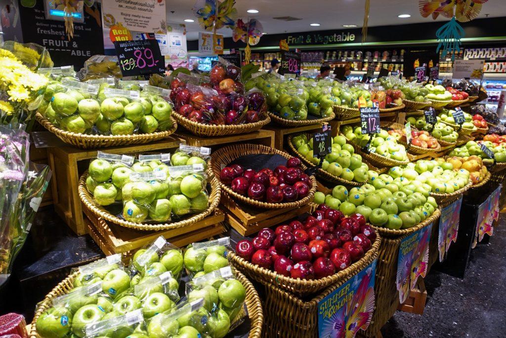 タイのスーパーマーケットの写真② by the golf retreat