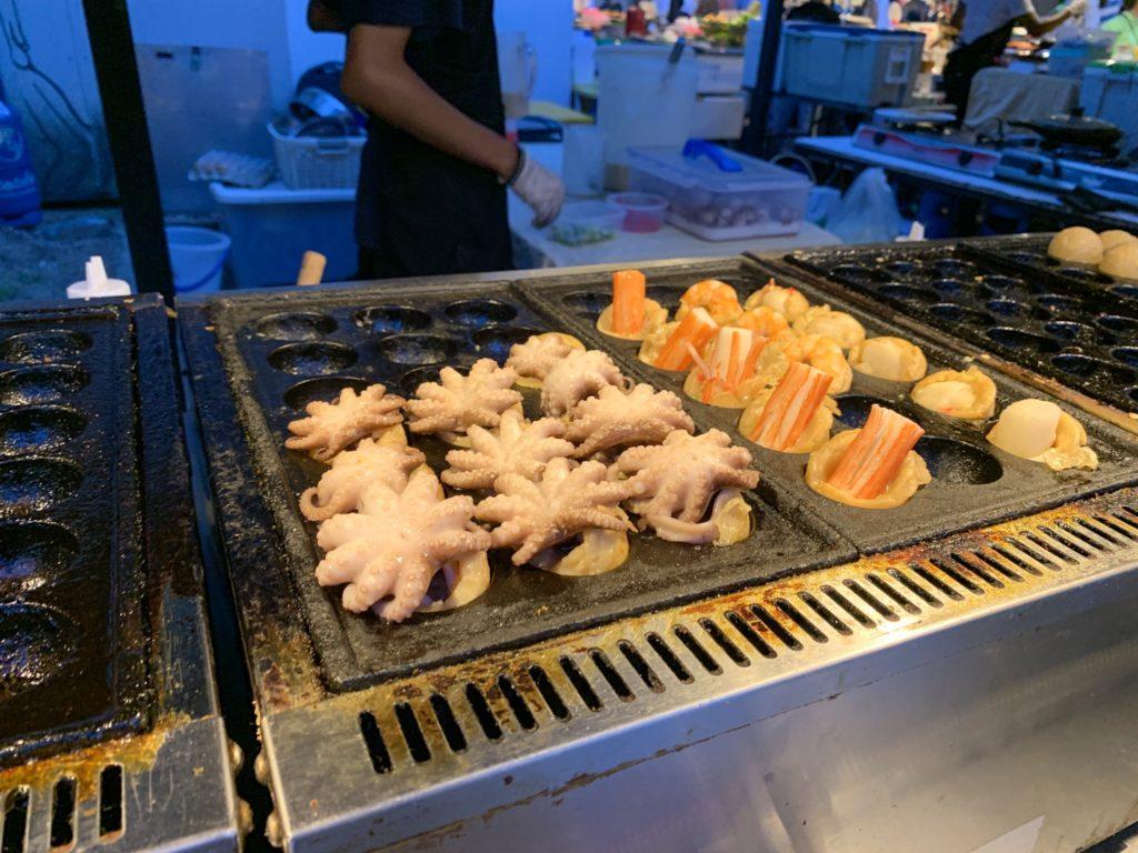 Cicada Night Market(シカダマーケット)たこ焼き