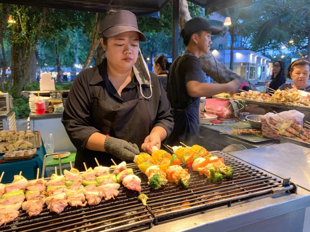 Cicada Night Market(シカダマーケット)BBQ